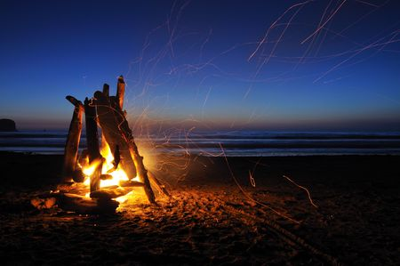 There is no need to wait until the weekend to have fun because every Tuesday and Wednesday night, until August 30th, there are free bonfires in Dewey Beach.