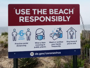 Beach Safety sign